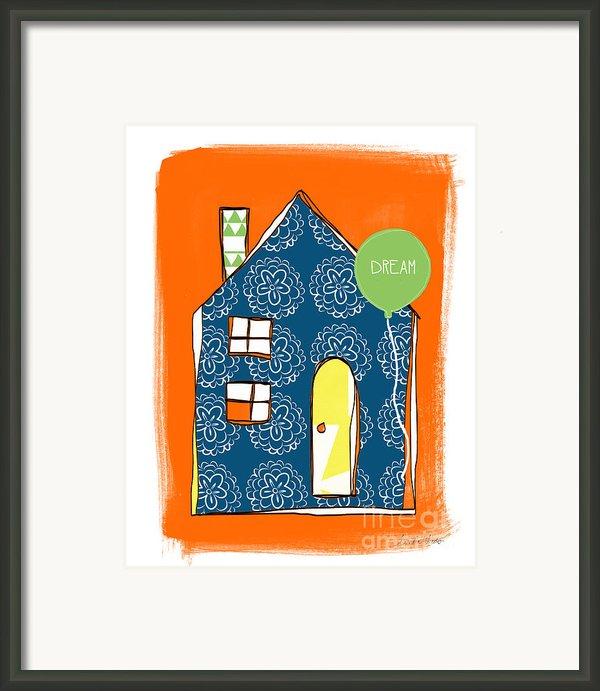 Dream House Framed Print By Linda Woods