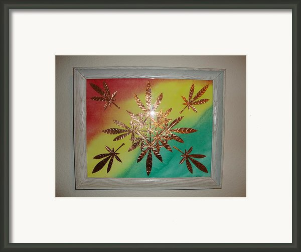 Dream Leaves One Framed Print By Scott Faucett
