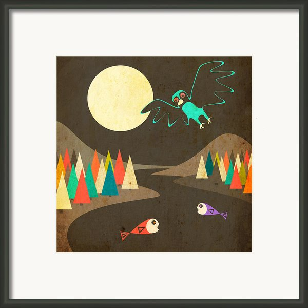 Dream River Framed Print By Jazzberry Blue
