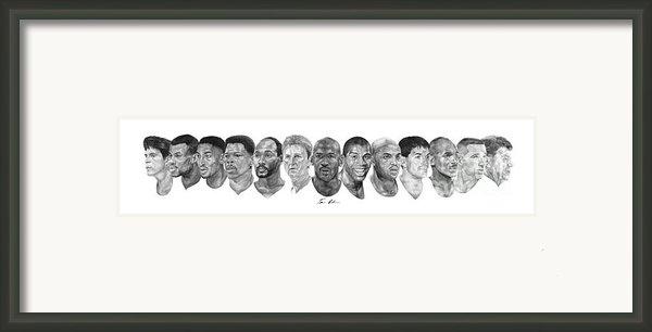 Dream Team Framed Print By Tamir Barkan