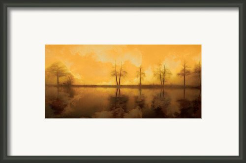 Dreaming Lake Framed Print By Stefan Kuhn
