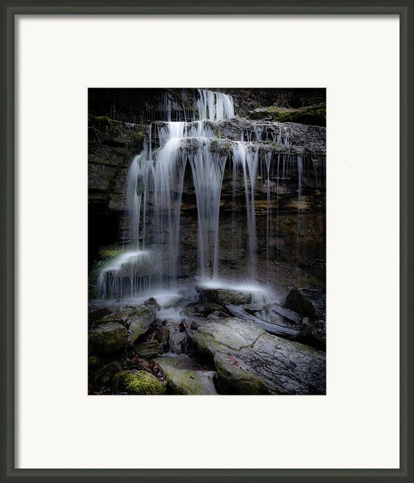 Dreamy Falls Framed Print By James Barber