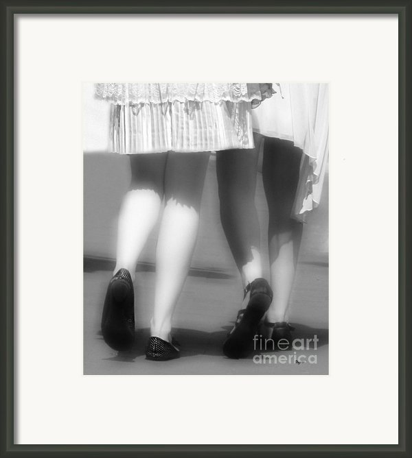 Dress Whites Framed Print By Steven  Digman