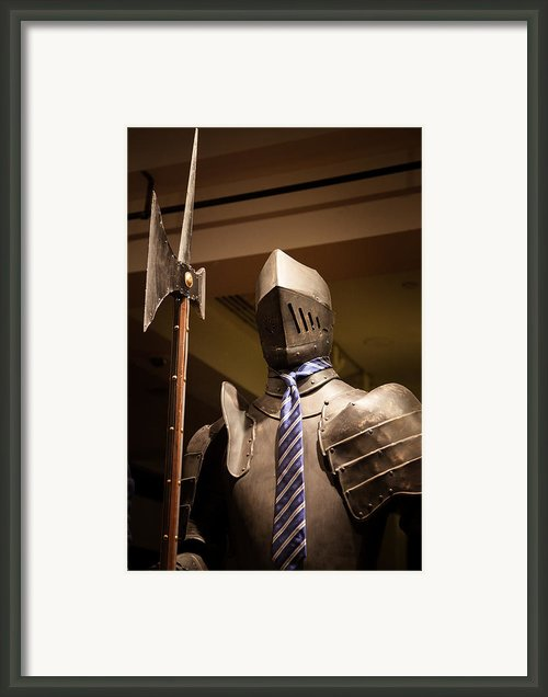 Dressed For Any Occasion Framed Print By Adam Pender