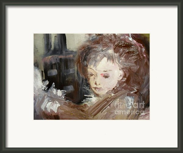 Drifting Framed Print By Laurie D Lundquist