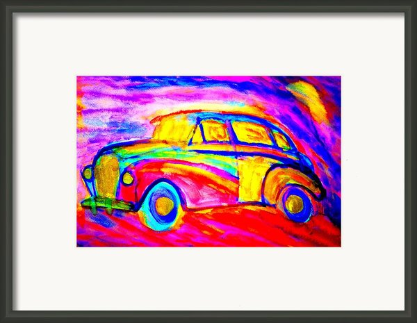 Driving Home  Framed Print By Hilde Widerberg