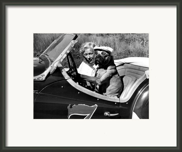 Driving Lessons Framed Print By Retro Images Archive