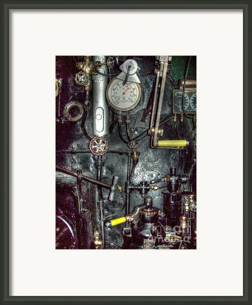 Driving Steam Framed Print By Mj Olsen