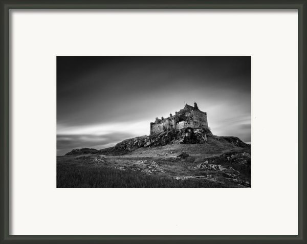 Duart Castle Framed Print By David Bowman
