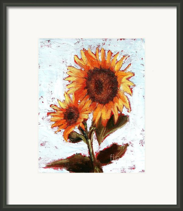 Duet Framed Print By Blanche Guernsey