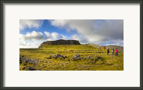 Dun Aengus - Ancient Irish History Framed Print By Mark E Tisdale