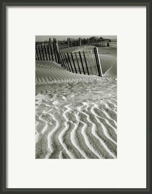 Dune Patterns Ii Framed Print By Steven Ainsworth