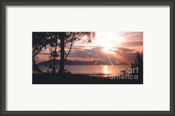 Dunk Island Australia Framed Print By Jerome Stumphauzer