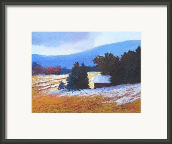 Duster Framed Print By Sheila Psaledas
