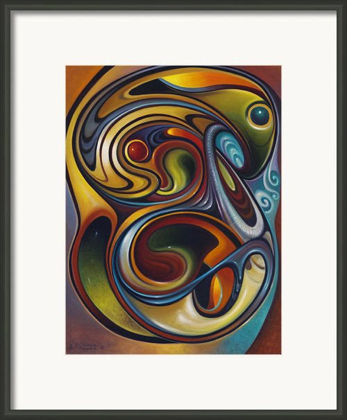 Dynamic Series #15 Framed Print By Ricardo Chavez-mendez