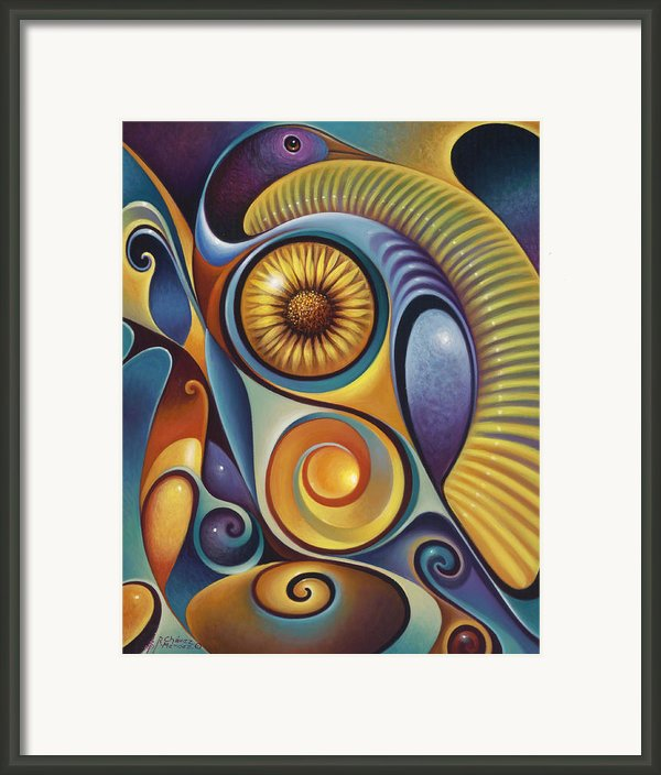 Dynamic Series #21 Framed Print By Ricardo Chavez-mendez