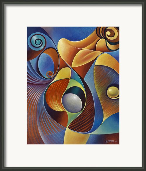 Dynamic Series #22 Framed Print By Ricardo Chavez-mendez