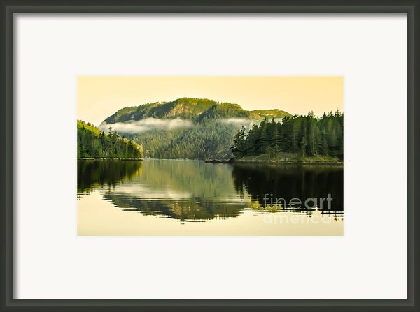 Early Morning Reflections Framed Print By Robert Bales