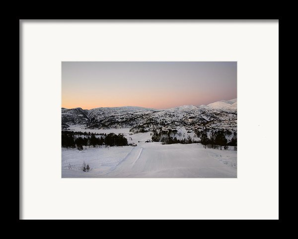 Early Winter Morning Framed Print By Gry Thunes