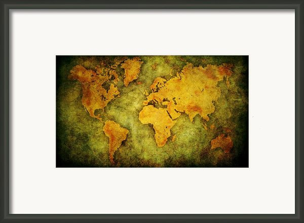Earth And Brine Framed Print By Brett Pfister