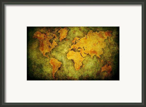 Earth And Brine Framed Print By Brett Pfister