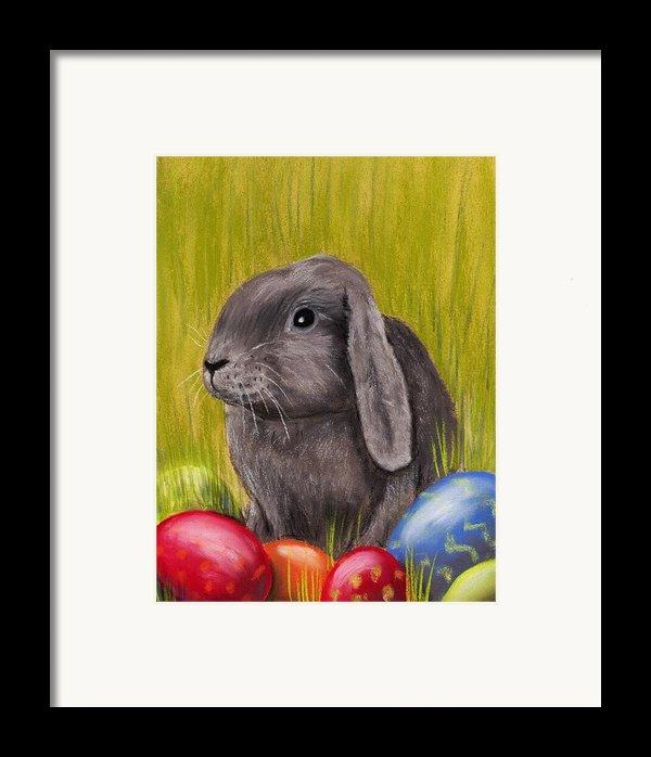 Easter Bunny Framed Print By Anastasiya Malakhova