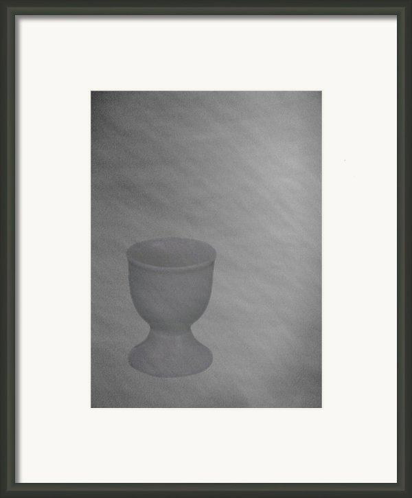 Easter Eggcup Framed Print By Sarah Vernon