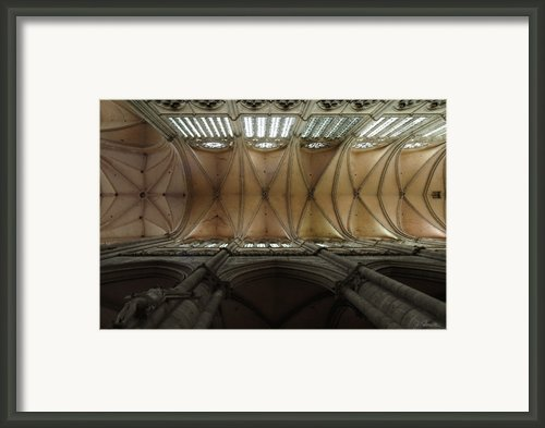 Ecclesiastical Ceiling No. 1 Framed Print By Joe Bonita