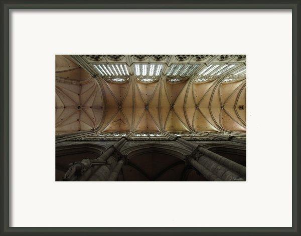 Ecclesiastical Ceiling No. 1 Framed Print By Joe Bonita