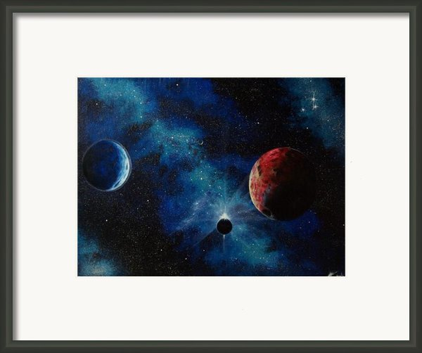 Ecliptic View Framed Print By Murphy Elliott
