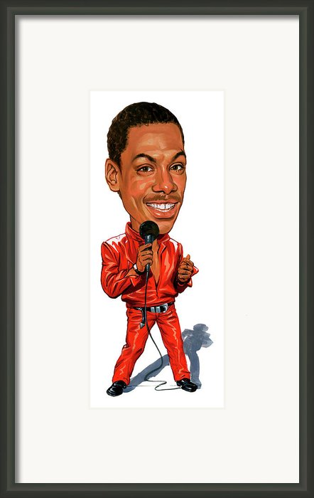 Eddie Murphy Framed Print By Art