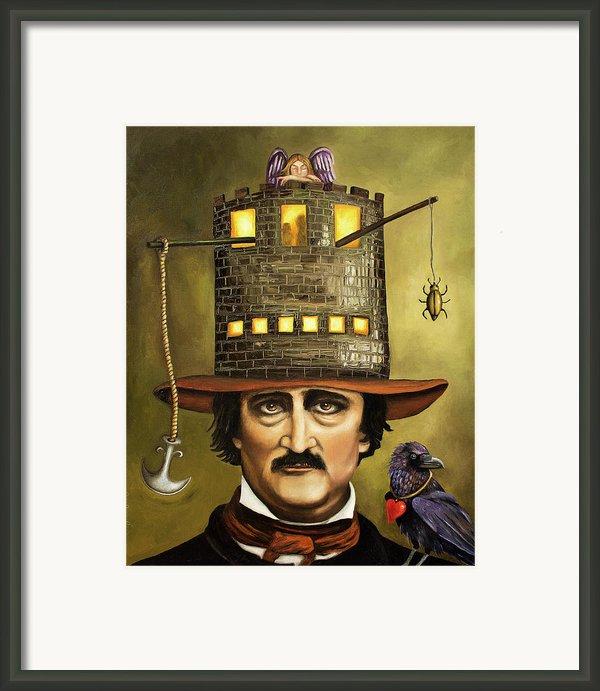 Edgar Allan Poe Framed Print By Leah Saulnier The Painting Maniac