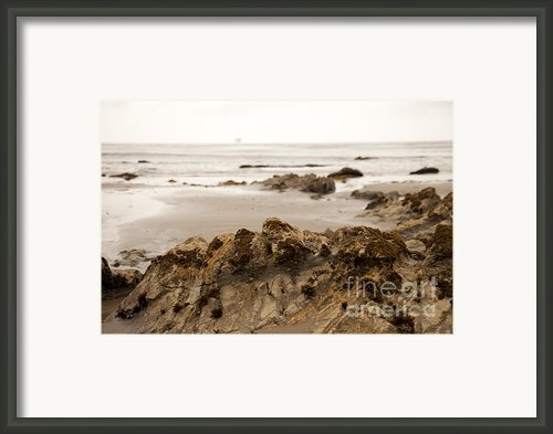 Edges Framed Print By Amanda Barcon