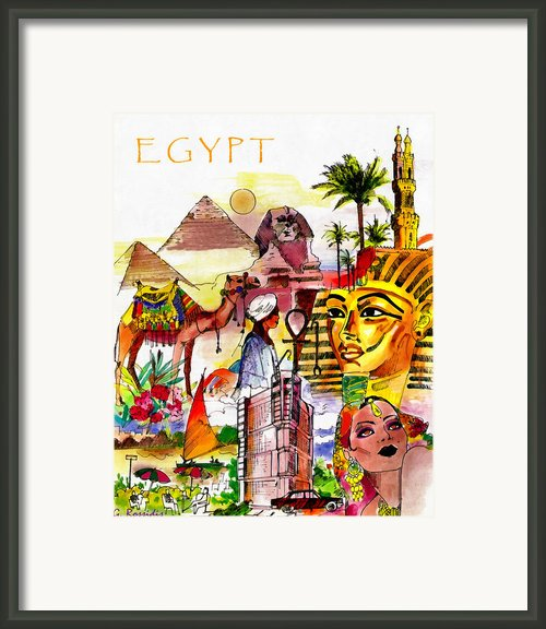 Egypt Framed Print By George Rossidis