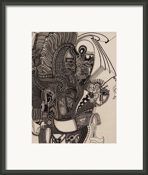 Egypt Walking Framed Print By Michael Kulick