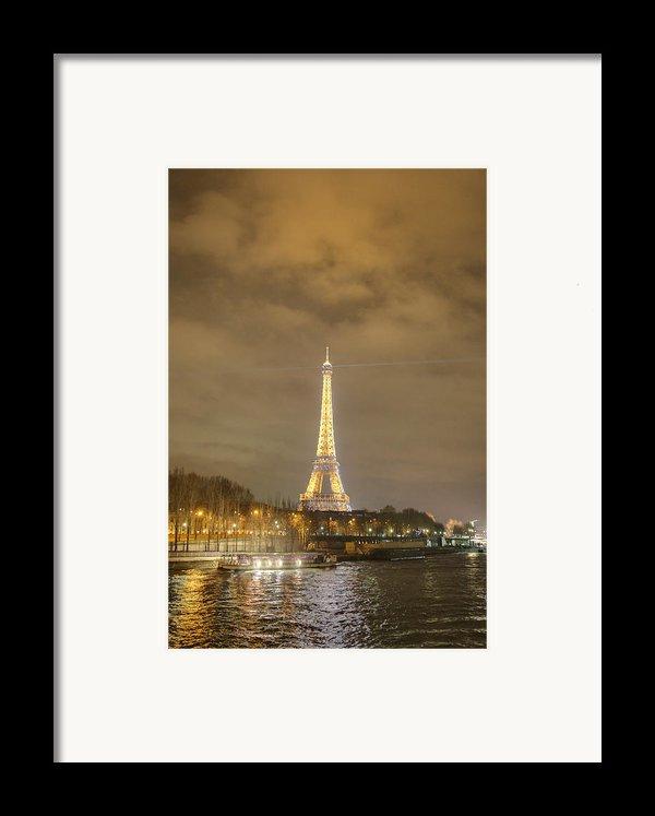 Eiffel Tower - Paris France - 011339 Framed Print By Dc Photographer