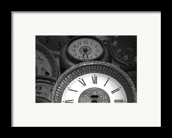 Eight Faces Of Time Framed Print By Tom Gari Gallery-three-photography