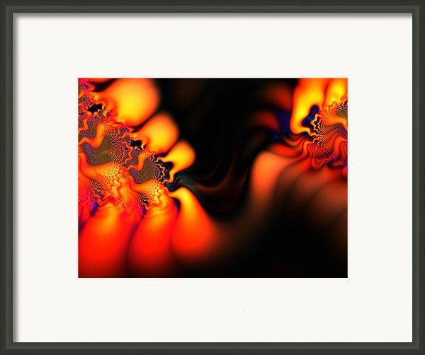 Electric Wave Framed Print By Ian Mitchell