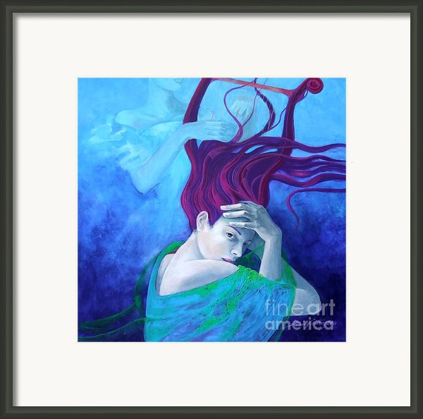 Elegy Framed Print By Dorina  Costras