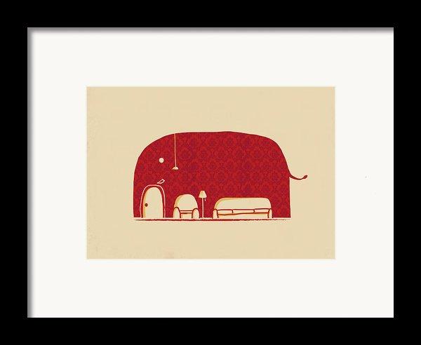 Elephanticus Roomious Framed Print By Budi Satria Kwan