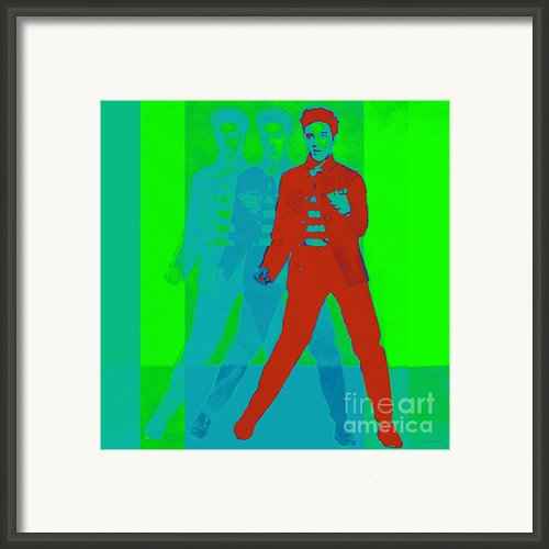 Elvis Jail House Rock 20130215p68 Framed Print By Wingsdomain Art And Photography