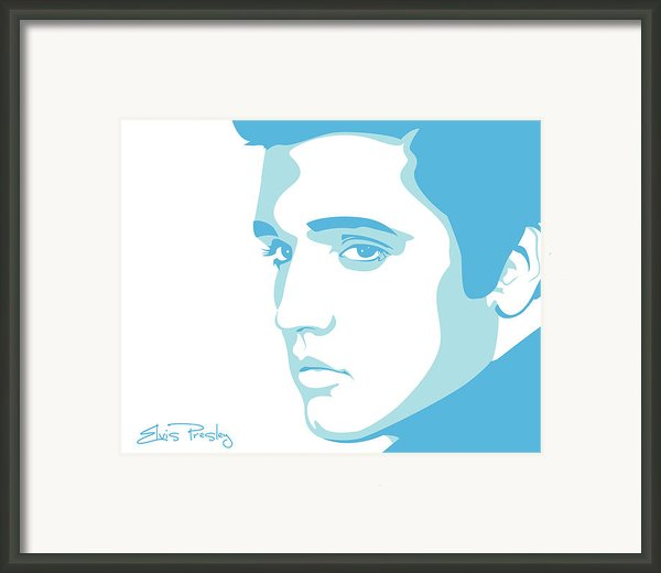 Elvis Framed Print By Mike Maher