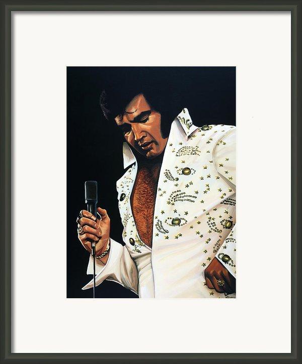 Elvis Presley Framed Print By Paul  Meijering