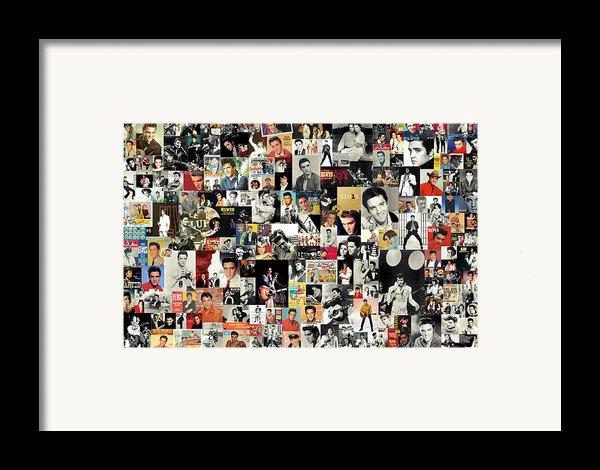 Elvis The King Framed Print By Taylan Soyturk
