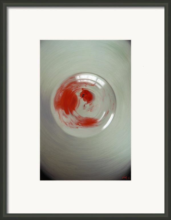 Embryogenesis #3 Of 3 Framed Print By Thomas Luca