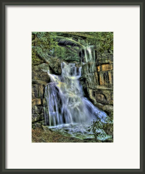 Emerald Cascade Framed Print By Bill Gallagher