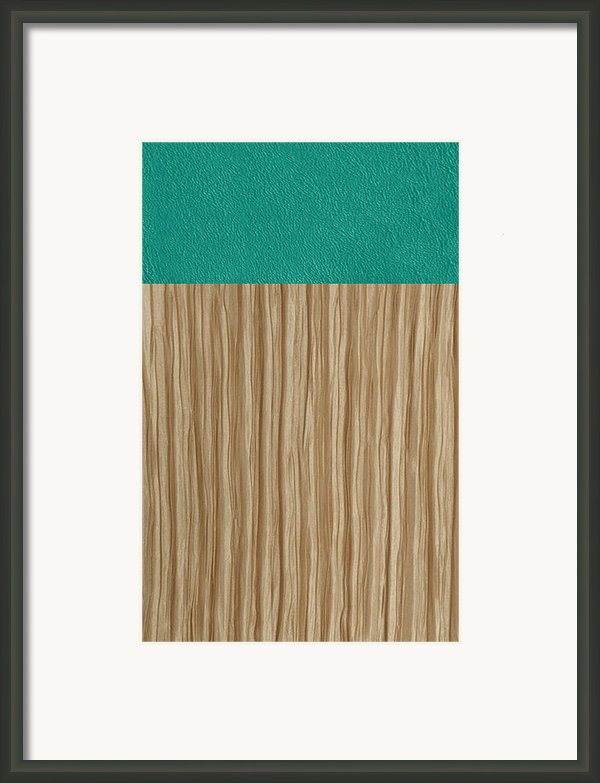 Emerald Cashmere Framed Print By Margaret Ivory