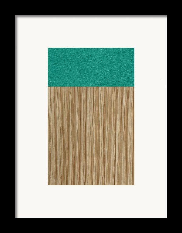 Emerald Cashmere Framed Print By Margaret Ivory
