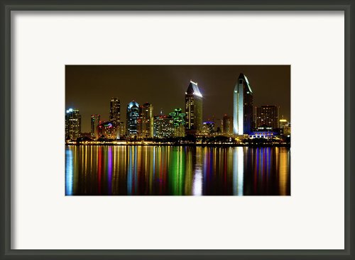 Eminent Echoes Of San Diego Framed Print By Ryan Hartson-weddle