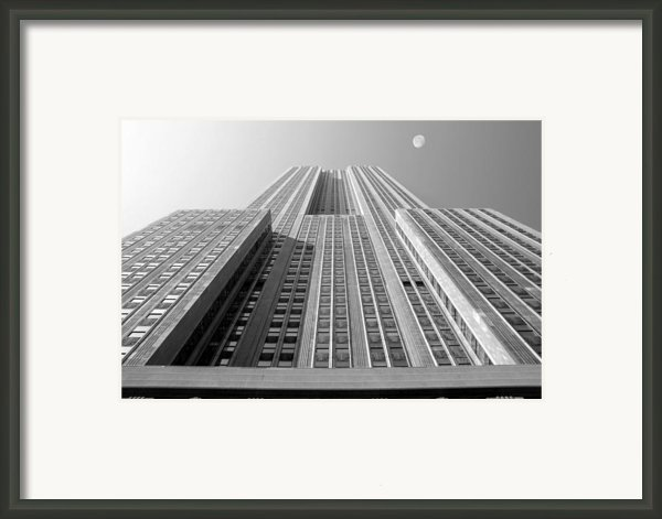 Empire State Building Framed Print By Mike Mcglothlen